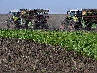 Посев сои в Приморском крае