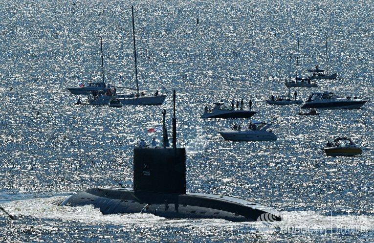 Подводная лодка Б-274
