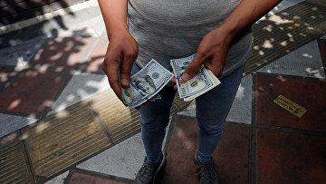 родавец валюты в Тегеране, Иран
