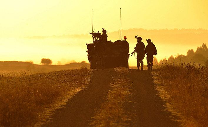 Американские солдаты на учениях Saber Junction 2012 в Баварии
