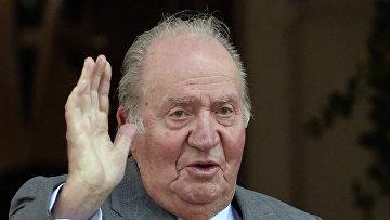 Испанский король Хуан Карлос I