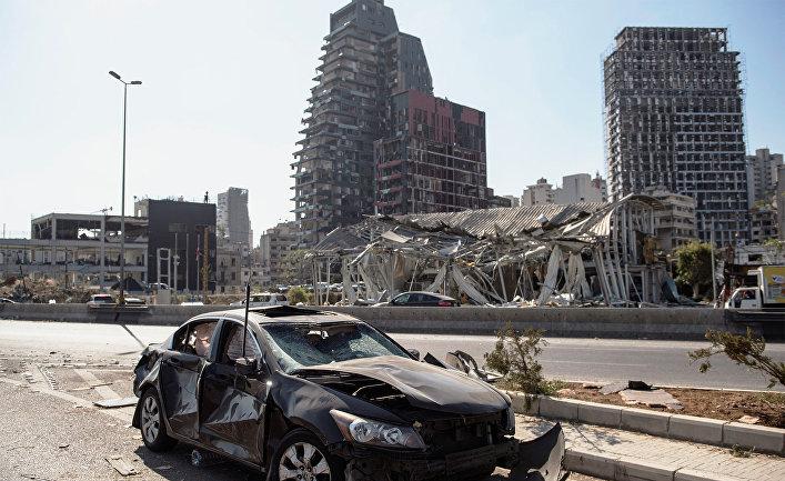 МЧС РФ  завершило поисково-спасательные работы вБейруте