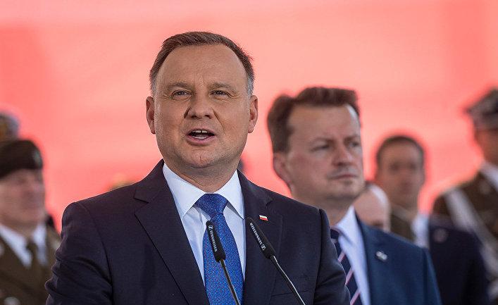 Дуда винаугурационной речи дал украинцам обещание поДонбассу иКрыму