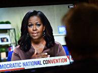 Выступление бывшей первой леди Мишель Обамы