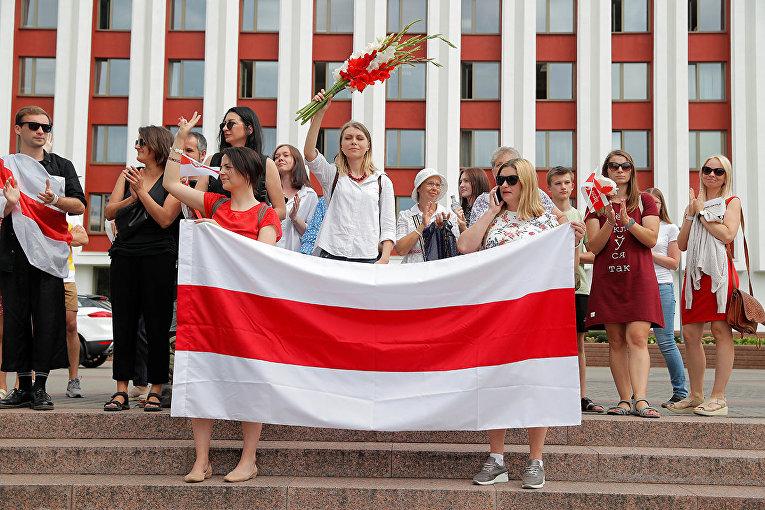 Протесты в Минске, Белоруссия