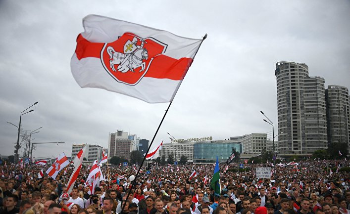 Акции протеста в Минске