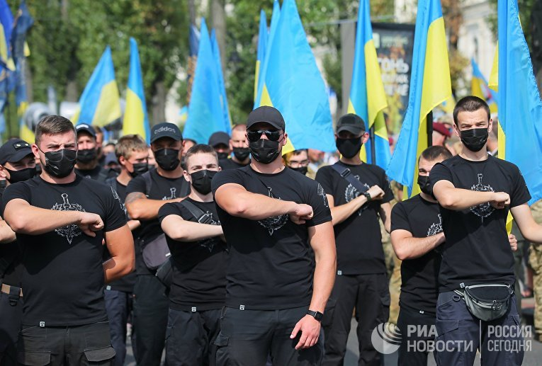 """""""Марш защитников"""" в Киеве"""