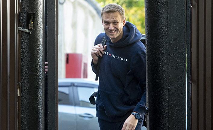 Алексей Навальный в Москве