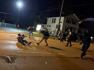 Беспорядки во время акции протеста в Кеноше, штат Висконсин