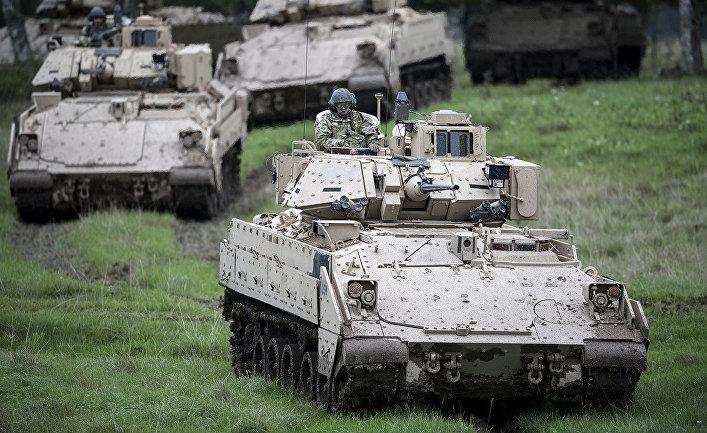 Учения НАТО в Швеции