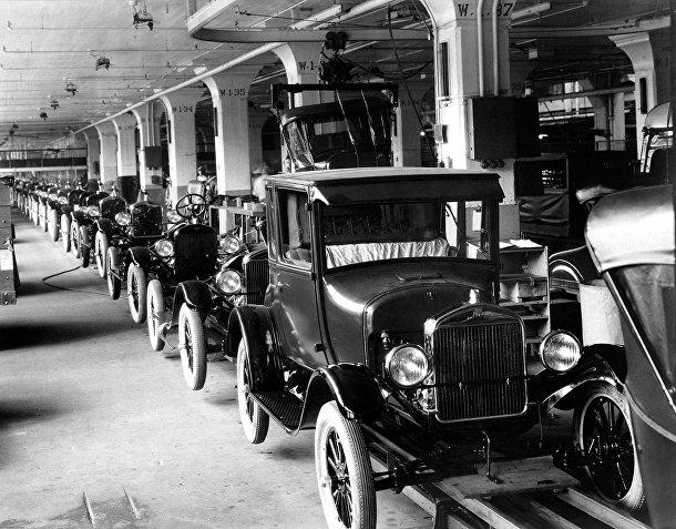 Производство автомобилей Ford Model T
