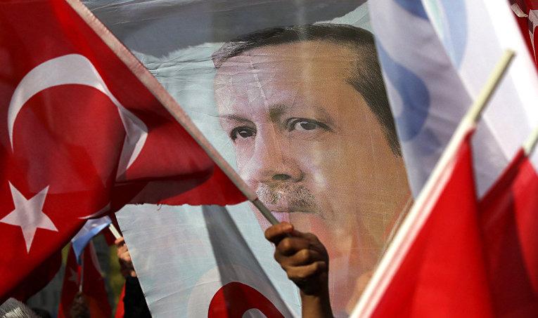 Сторонники Эрдогана
