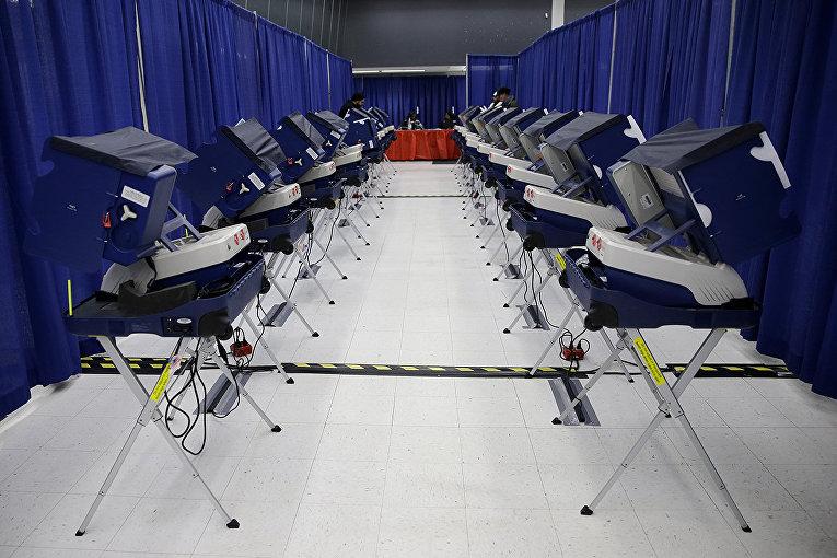 Избирательный участок в Чикаго