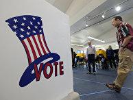 Избирательный участок в Эль-Сегундо