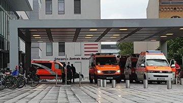 """Алексей Навальный доставлен в берлинскую клинику """"Шарите"""""""