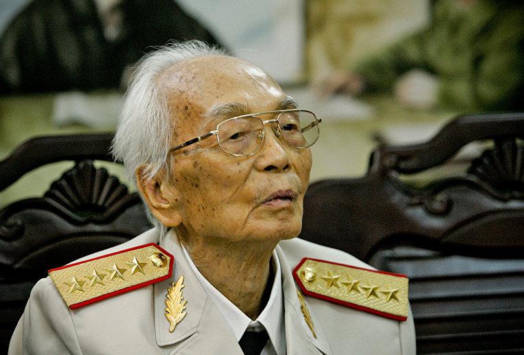 Вьетнамский генерал Во Нгуен Зяп