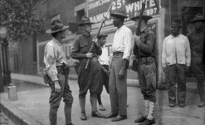 Расовые беспорядки в Вашингтоне в 1919 году
