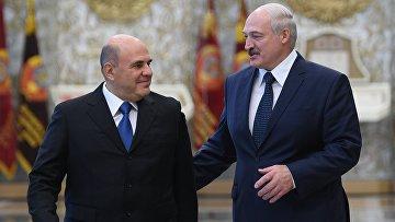 Визит председателя правительства РФ М. Мишустина в Минск