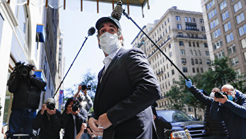 Майкл Коэн в Нью-Йорке