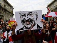 Протестная акция женщин в Минске