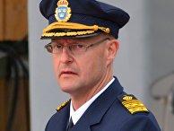 Заместитель главы полиции Швеции Матс Лёвин