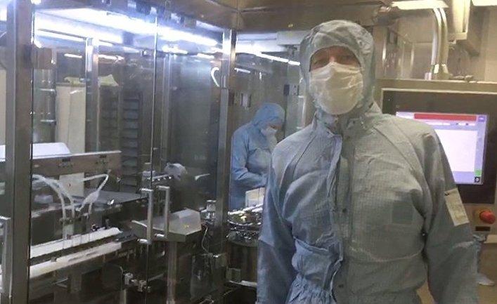 Производство первой в мире вакцины от COVID-19