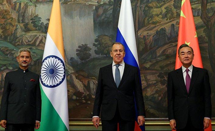 Трехсторонняя встреча министров иностранных дел России, Индии и Китая