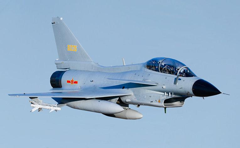 Китайский истребитель Чэнду J-10