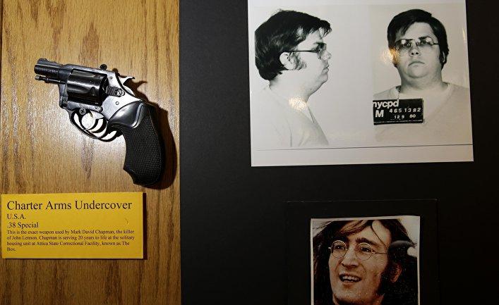 Пистолет, из которого Марк Чепмен застрелил Джона Леннона