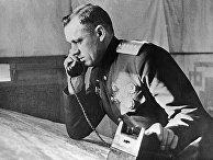 Командующий I-м Белорусским фронтом генерал армии Константин Рокоссовский