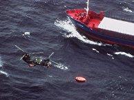 28сентября 2020. Шведские ВМФ спасают людей, выживших после крушения парома «Эстония» вБалтийском море
