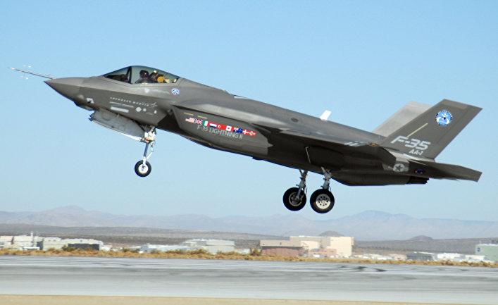 многоцелевой истребитель пятого поколения  F-35 JSF