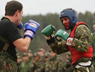 Испытания бойцов спецназа на право ношения крапового берета
