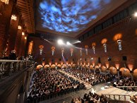 Банкет в честь лауреатов Нобелевской премии в Стокгольме, Швеция