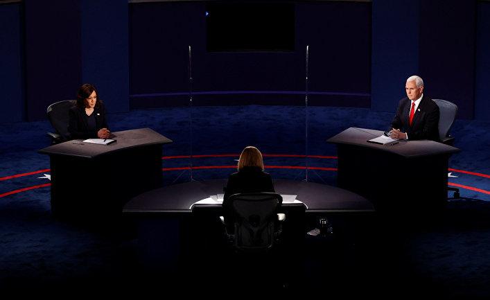 Дебаты Камалы Харрис и Майка Пенс