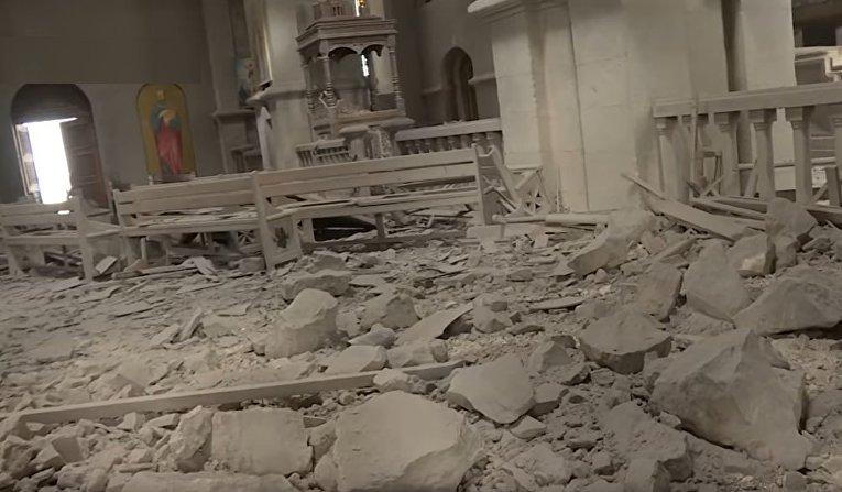 Азербайджан нанес удар по церкви в Карабахе