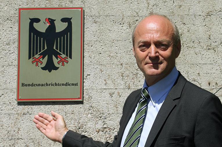Бывший глава БНД Герхард Шиндлер