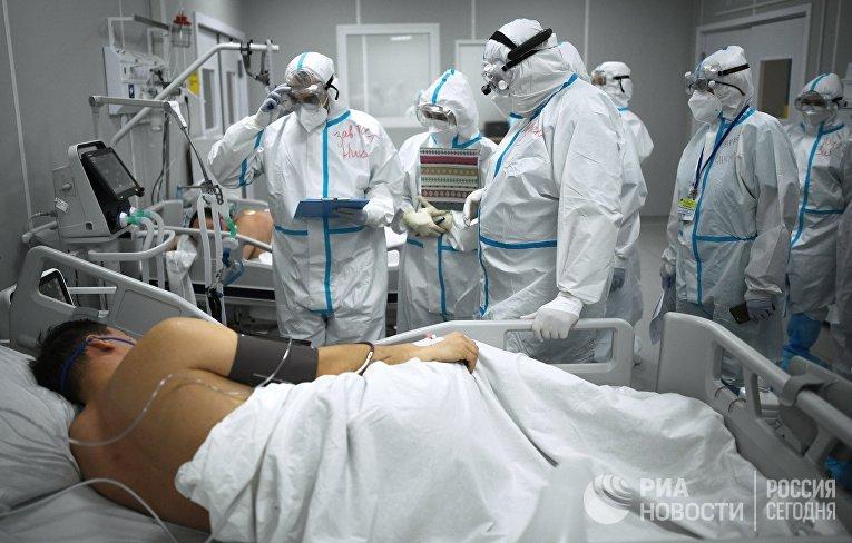 """Госпиталь COVID-19 в """"Сокольниках"""""""