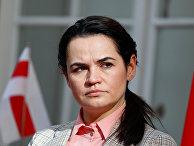 Лидер оппозиции Белоруссии Светлана Тихановская