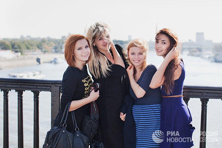 Московские студентки