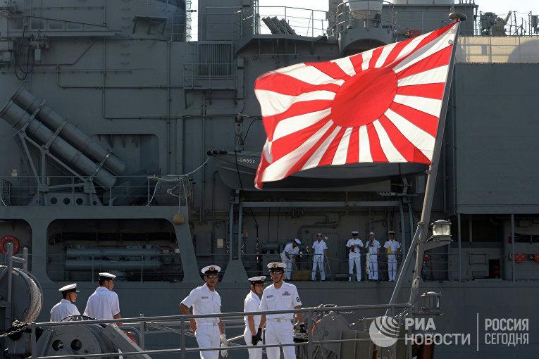 Визит миноносцев Морских сил самообороны Японии в Санкт-Петербург