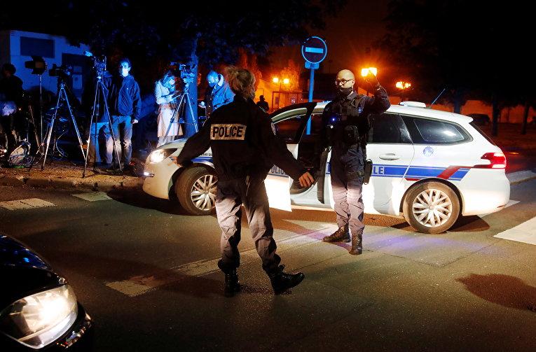 Убийство учителя в Париже 16 октября 2020