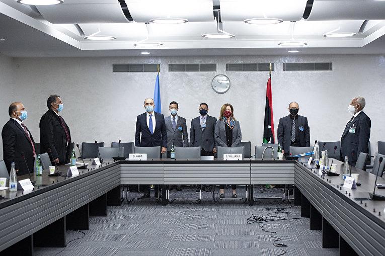 Участники переговоров по Ливии в Женеве