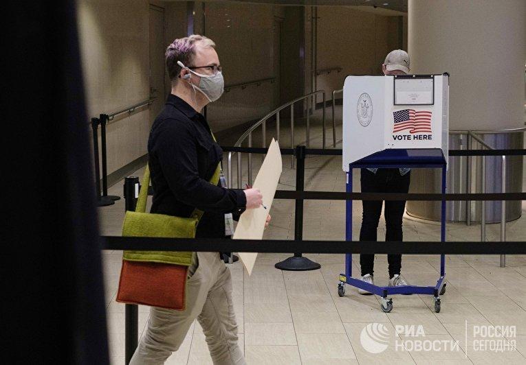 Досрочное голосование на выборах президента США