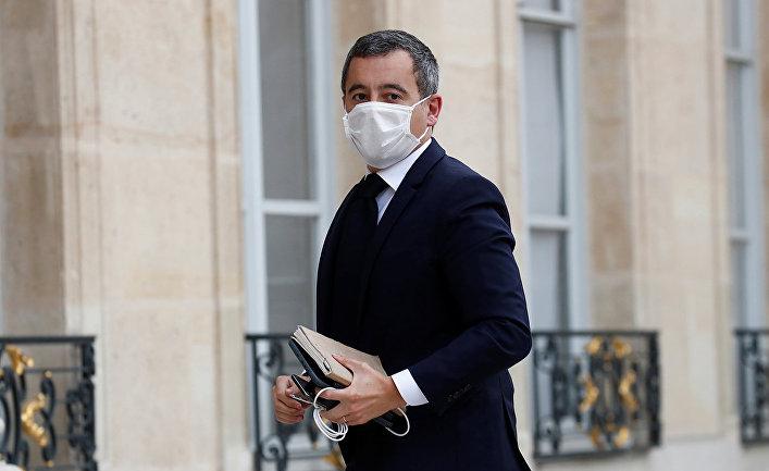 Министр внутренних дел Франции Жеральд Дарманен