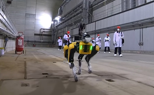 Робот Boston Dynamics на ЧАЕС