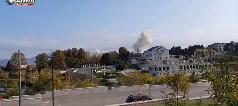 Азербайджан нанес авиаудары по Степанакерту