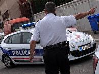Полицейский в Авиньоне