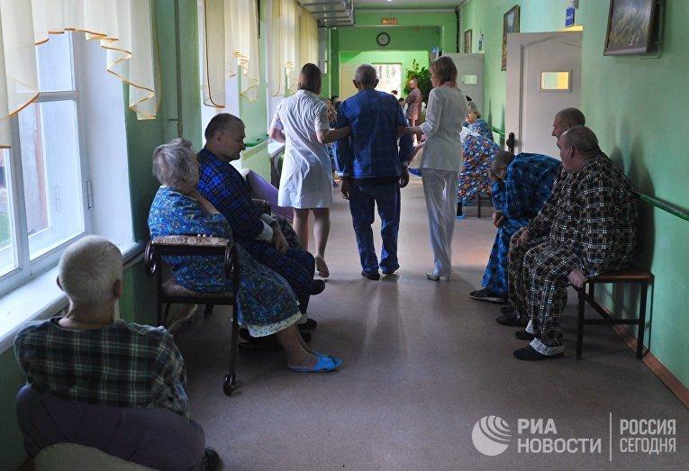 Пациенты в психосоматическом отделении Тамбовской областной больницы