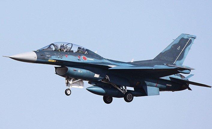 Истребитель Mitsubishi F-2